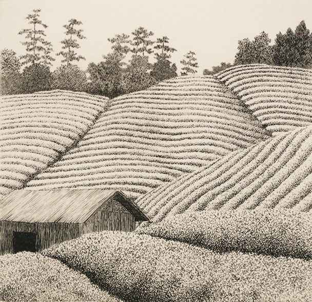 Tea Field by  Ryohei Tanaka - Masterpiece Online