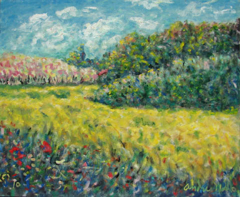 Spring in N. Californ... by  Andres  Morillo - Masterpiece Online