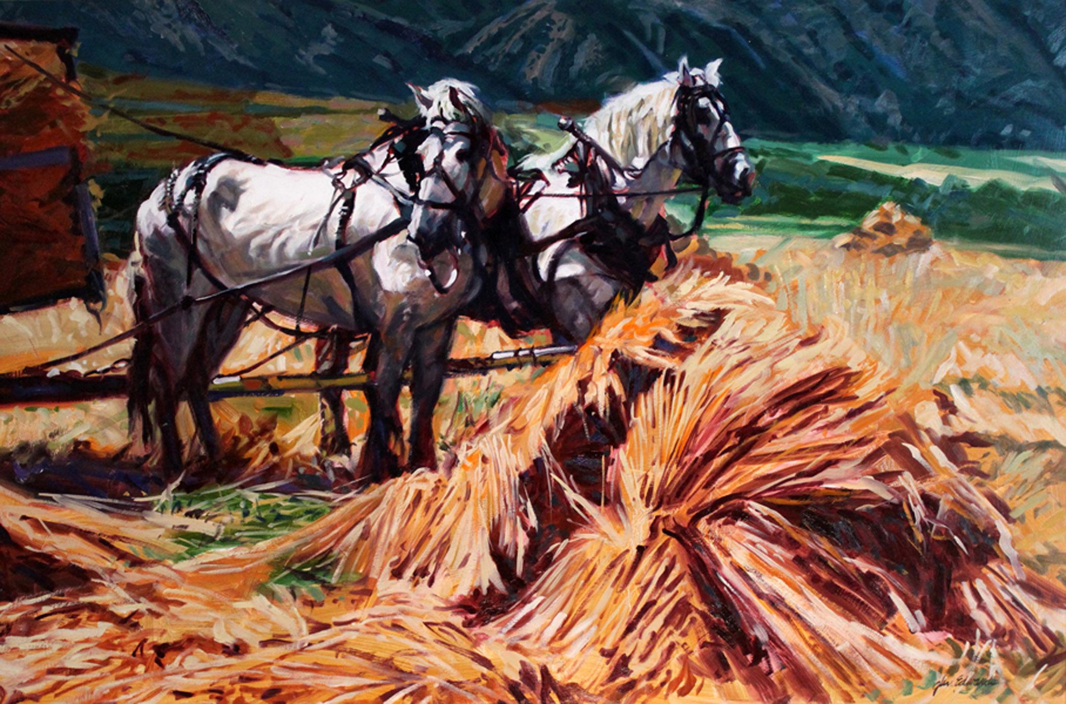 Golden Harvest by  Glen Edwards - Masterpiece Online