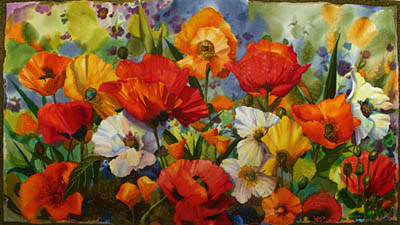 Splash of Color Minia... by MS Nancy Dunlop Cawdrey - Masterpiece Online