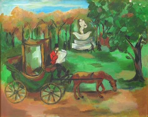The Carriage Driver by  Tom Maley - Masterpiece Online