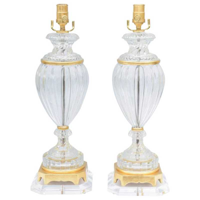 Pair of Baccarat Form... by  American  - Masterpiece Online