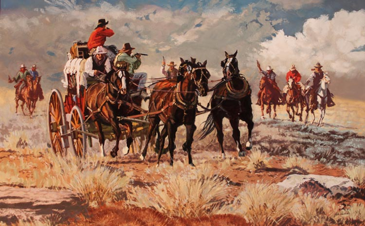 SOLD- Morgan Gang by  Glen Edwards - Masterpiece Online