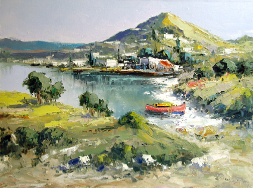 Tide Out by  Fani  Parlapani  - Masterpiece Online