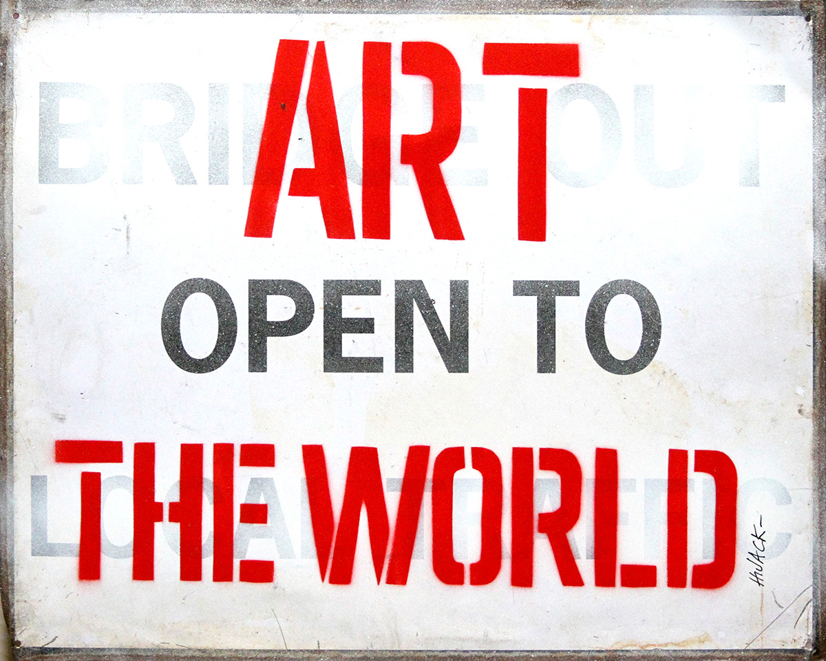 Art Open  To The World by  Hijack  - Masterpiece Online