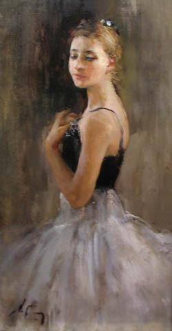 Ballerina of the Kiro... by  Nikolai  Blokhin  - Masterpiece Online