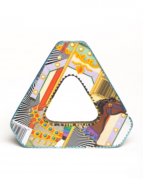 Triangular Metallic G...