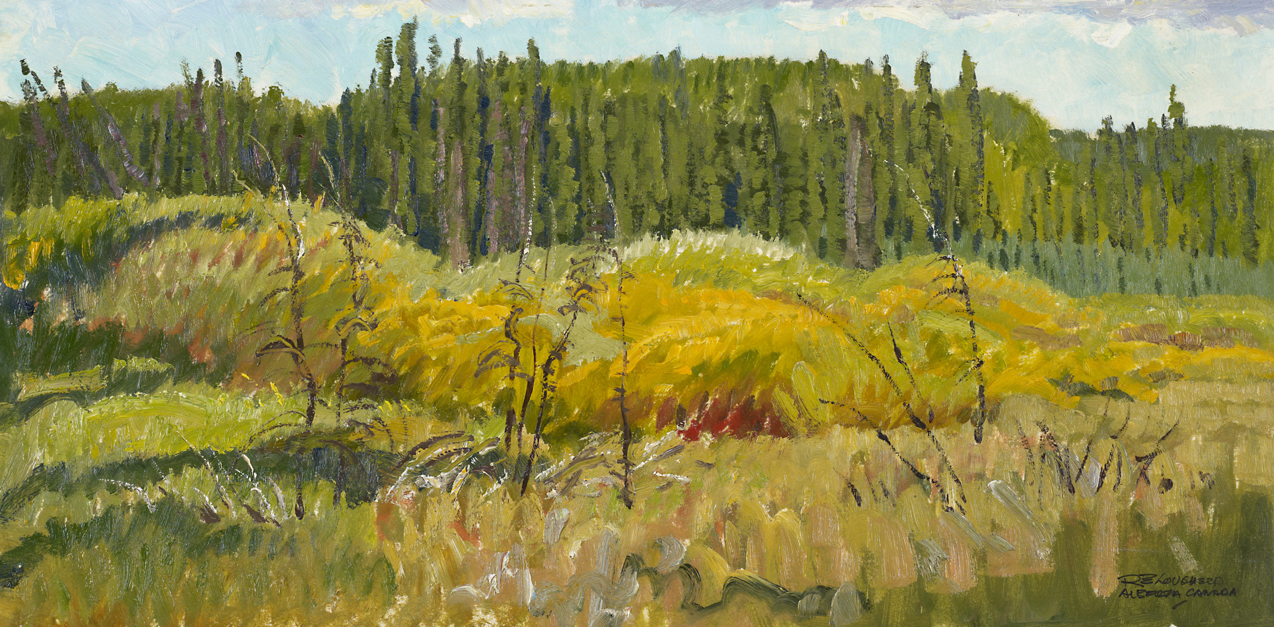 At the Edge of the Wo... by  Robert Lougheed - Masterpiece Online