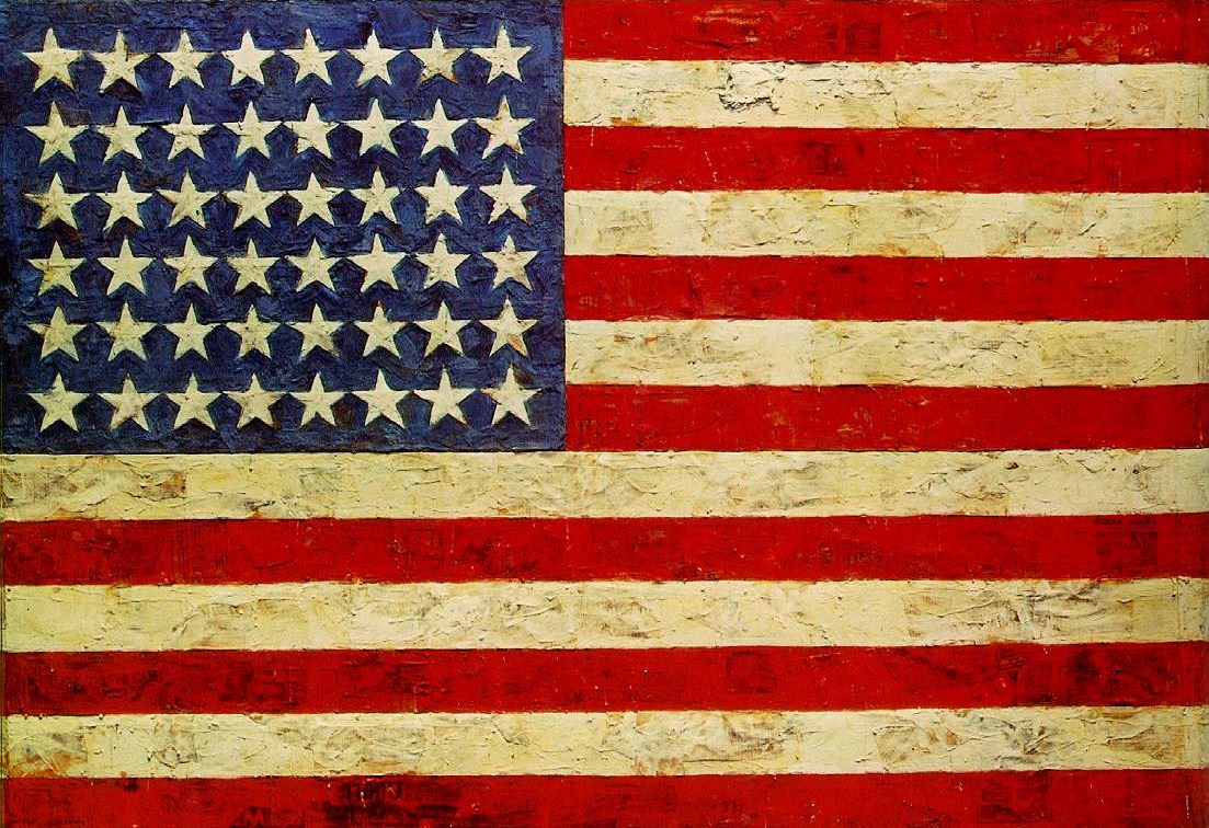 Flag By Jasper Johns Kings Wood Art