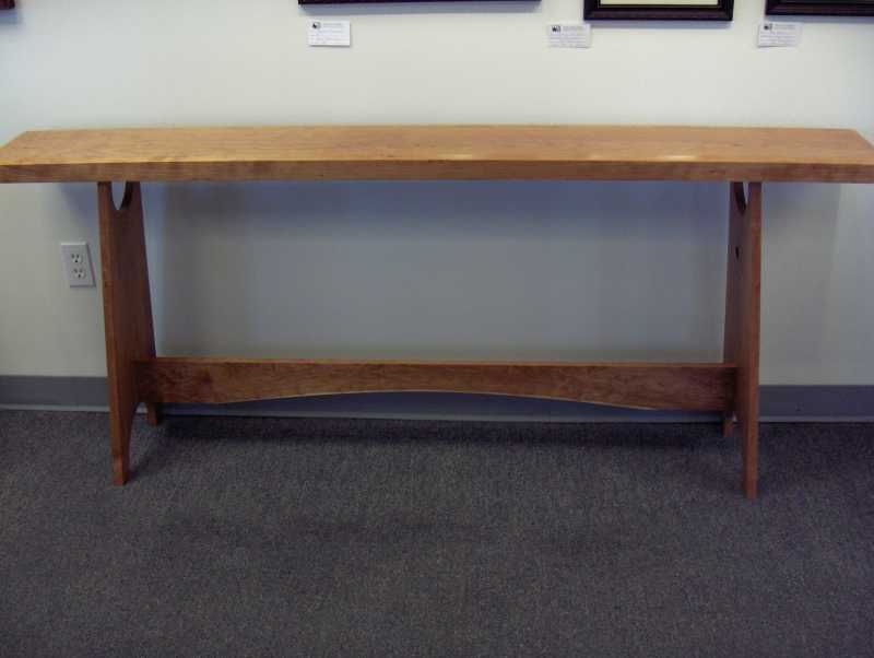 Seriously Cherry Shaker Hall Table By Gary Leake