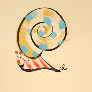 Snaly Snail Small