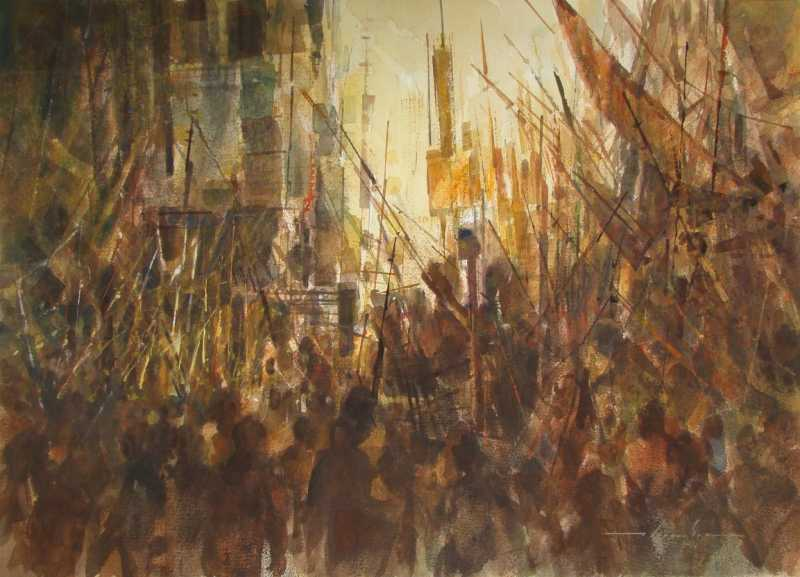 Conflict I by  William Thomson - Masterpiece Online