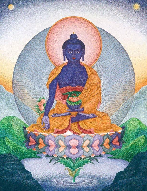 King of Lapis Lazuli ... by  Sherab (Shey) Khandro - Masterpiece Online