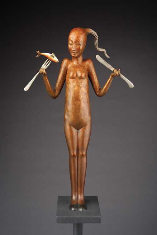 Tender Offering    #1... by  Patti Warashina - Masterpiece Online