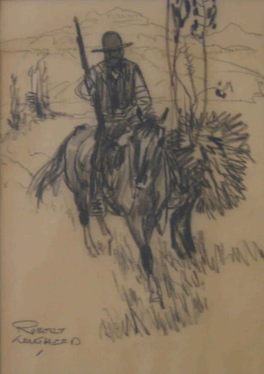 Mountain Man Illustra... by  Robert Lougheed - Masterpiece Online
