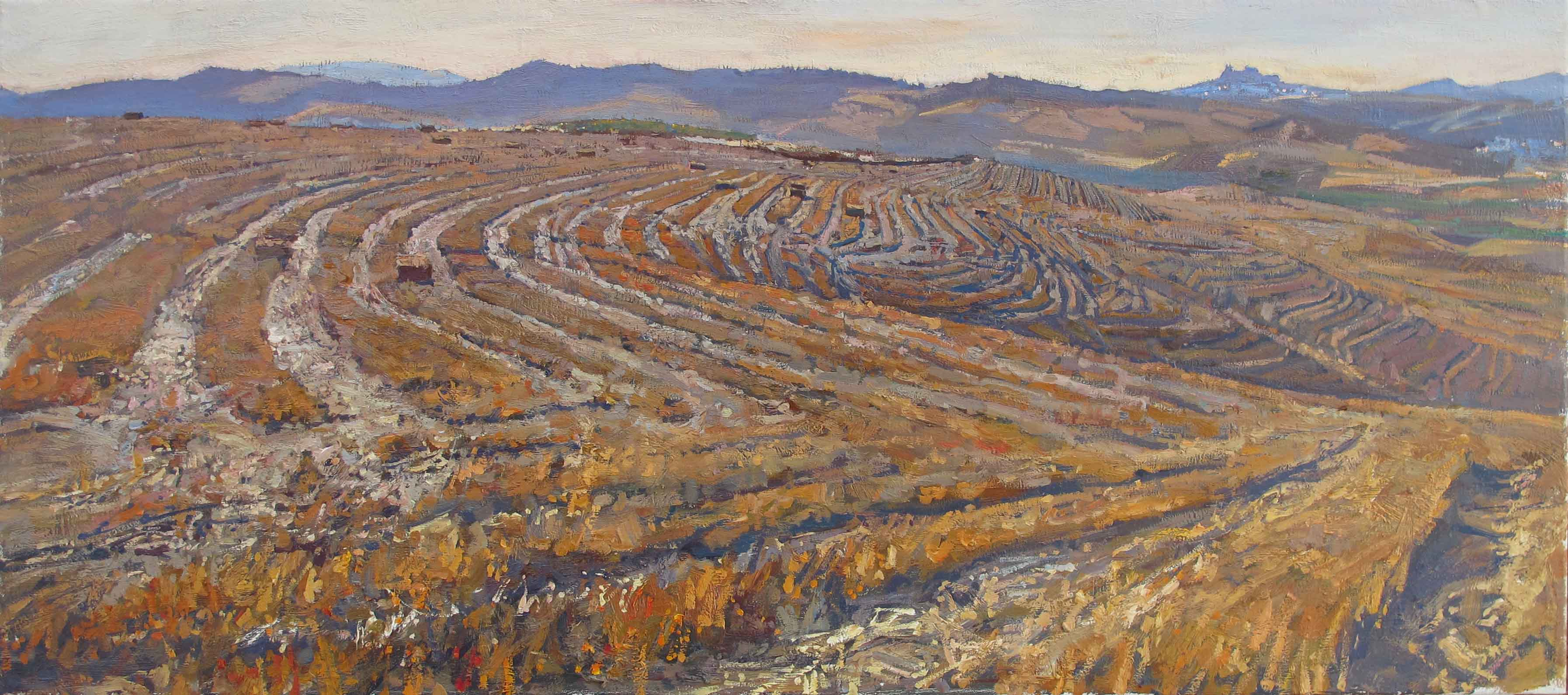 Antonio's Fields, I by  Daud Akhriev - Masterpiece Online