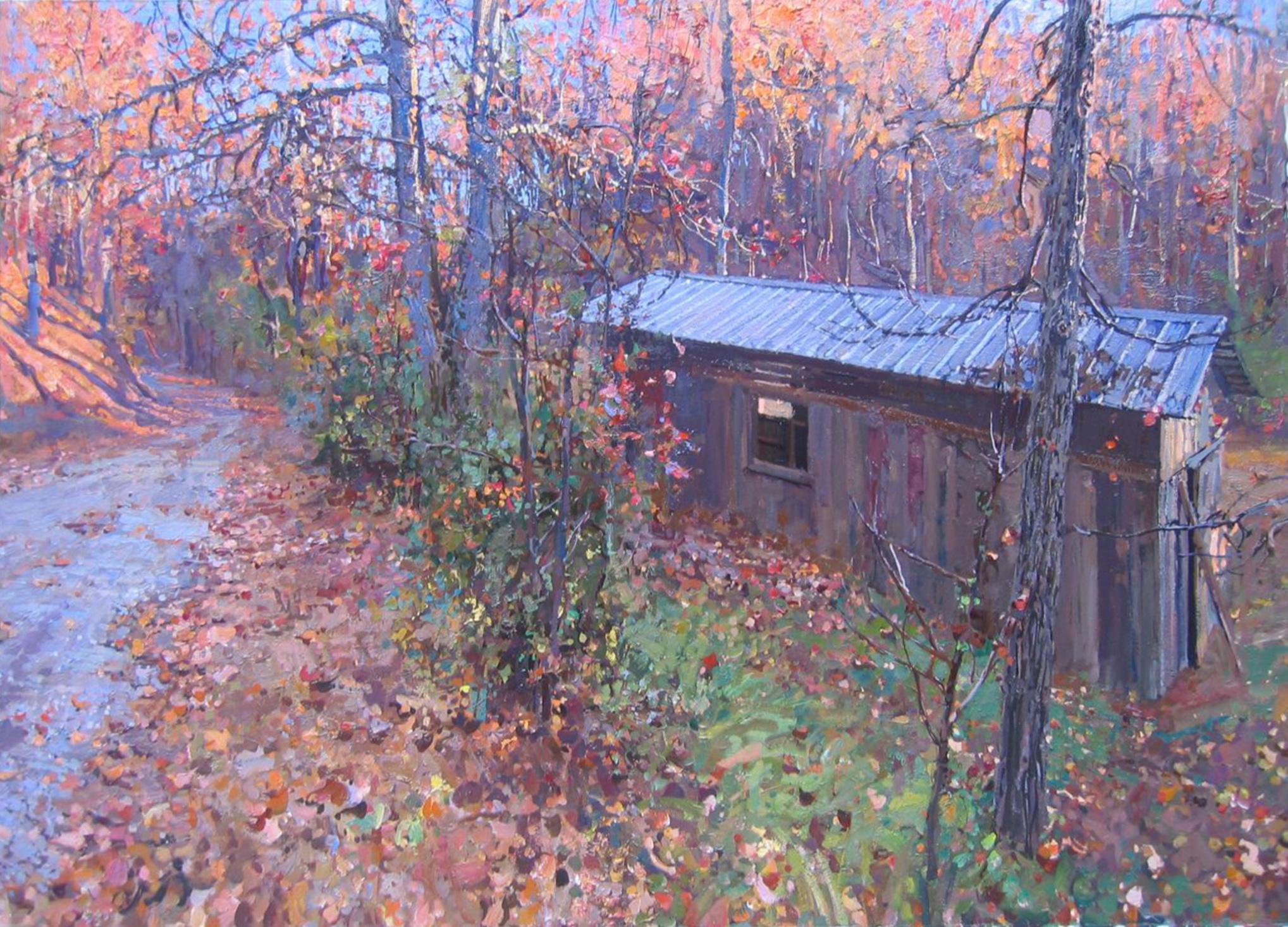 Melissa's Barn by  Daud Akhriev - Masterpiece Online