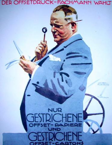 Nur Gestrichen by  Ludwig Hohlwein - Masterpiece Online