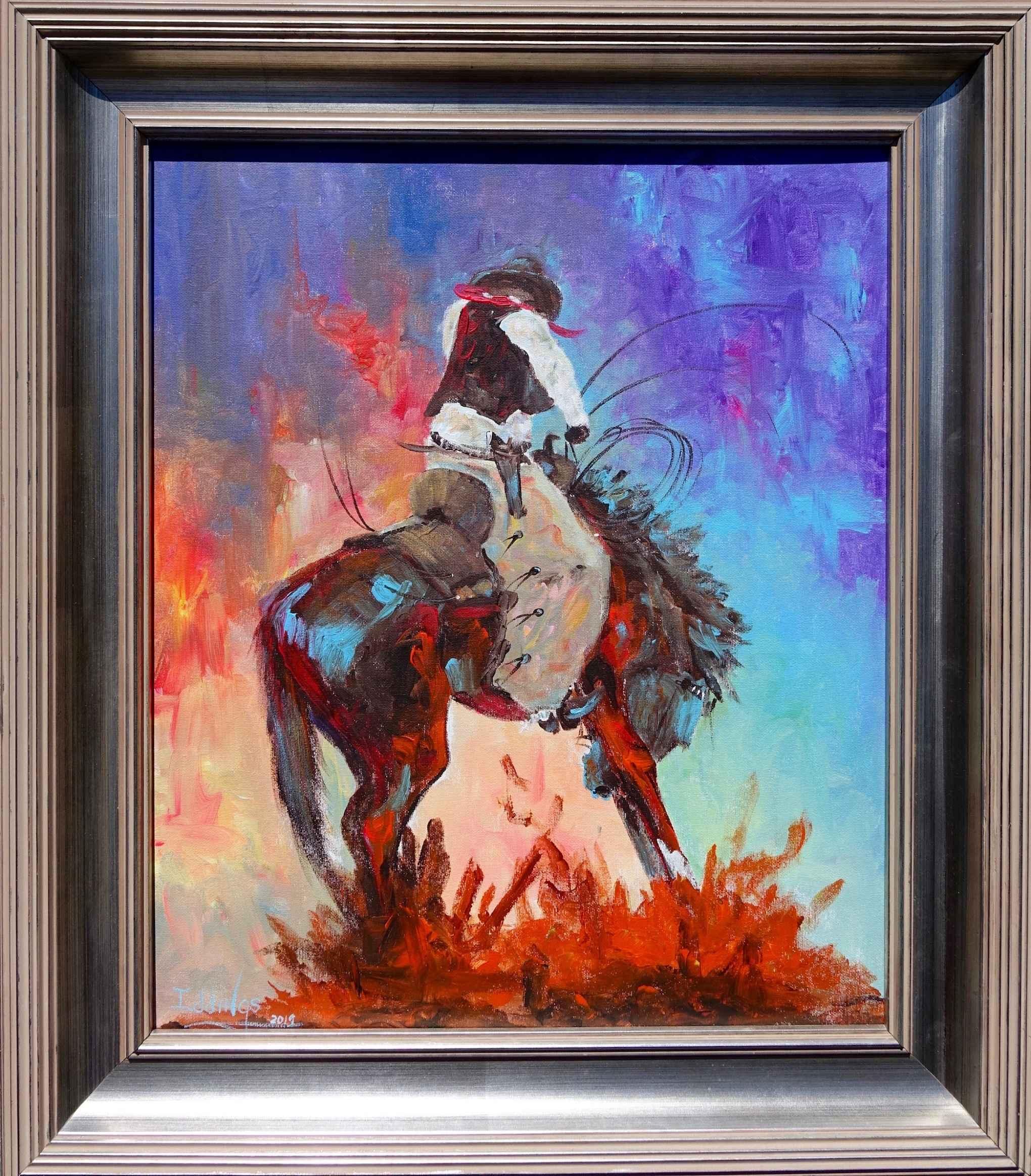 Powder River Kid by  Sam Iddings - Masterpiece Online