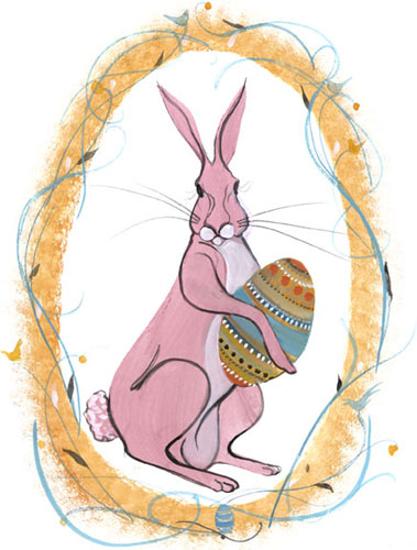 DP-PETER COTTONTAIL by  P. Buckley Moss  - Masterpiece Online