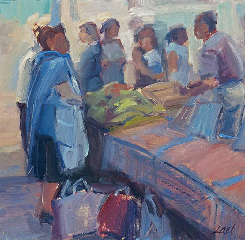 Market Day by  Lael Weyenberg - Masterpiece Online