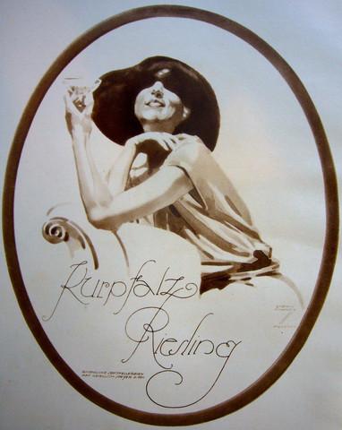 Kurpfalz Reisling by  Ludwig Hohlwein - Masterpiece Online