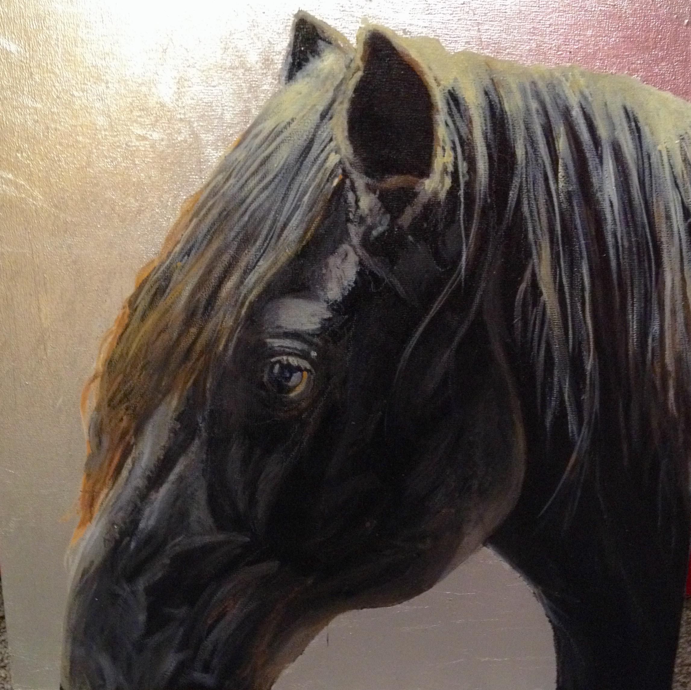 Black is Beautiful by  David DeVary - Masterpiece Online