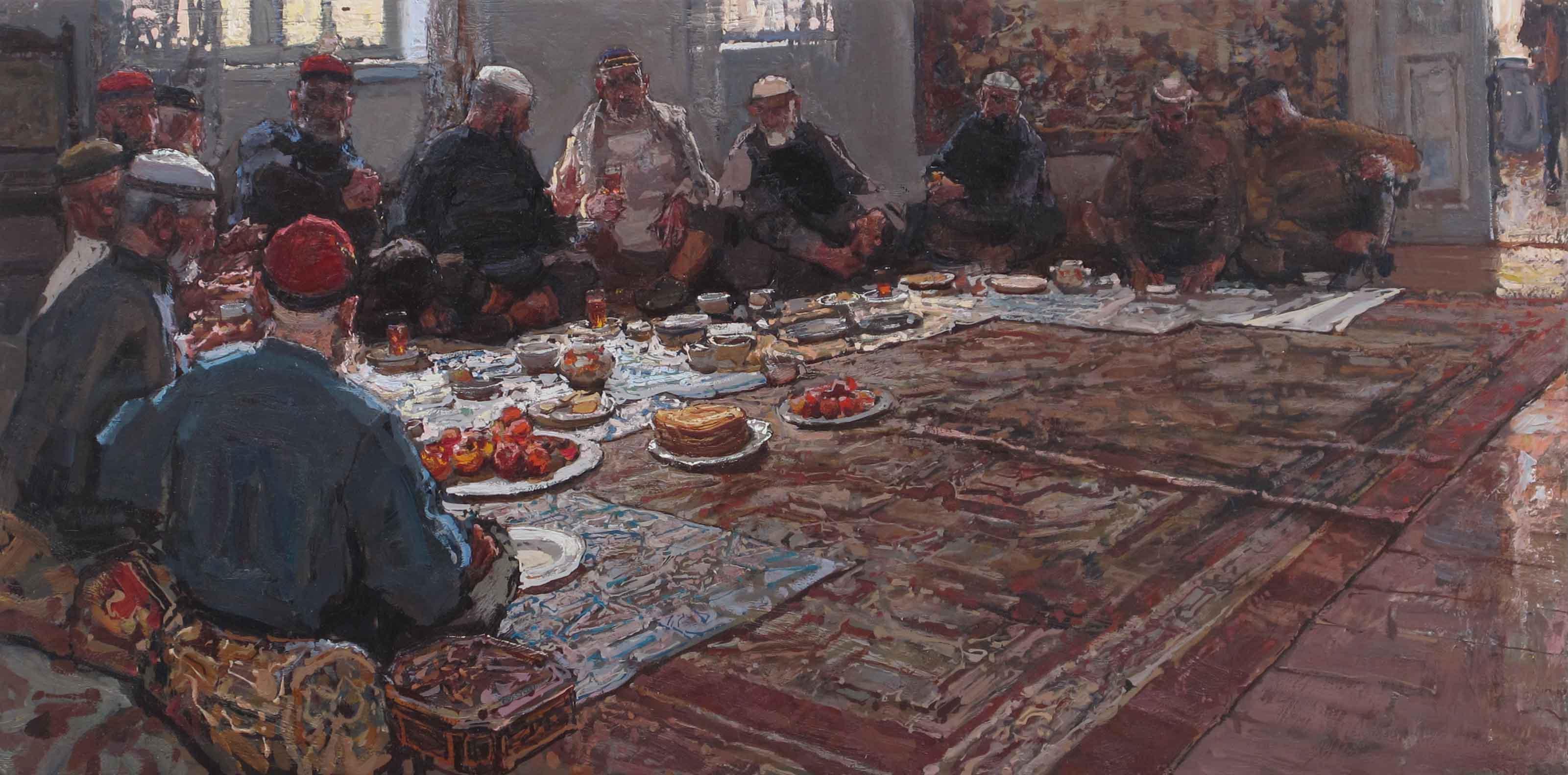 Feast Time by  Daud Akhriev - Masterpiece Online