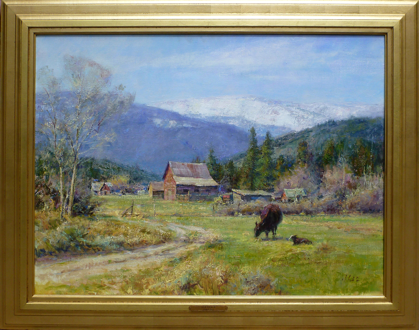 Old Ranch on Cottonwo... by  Joyce Lee - Masterpiece Online