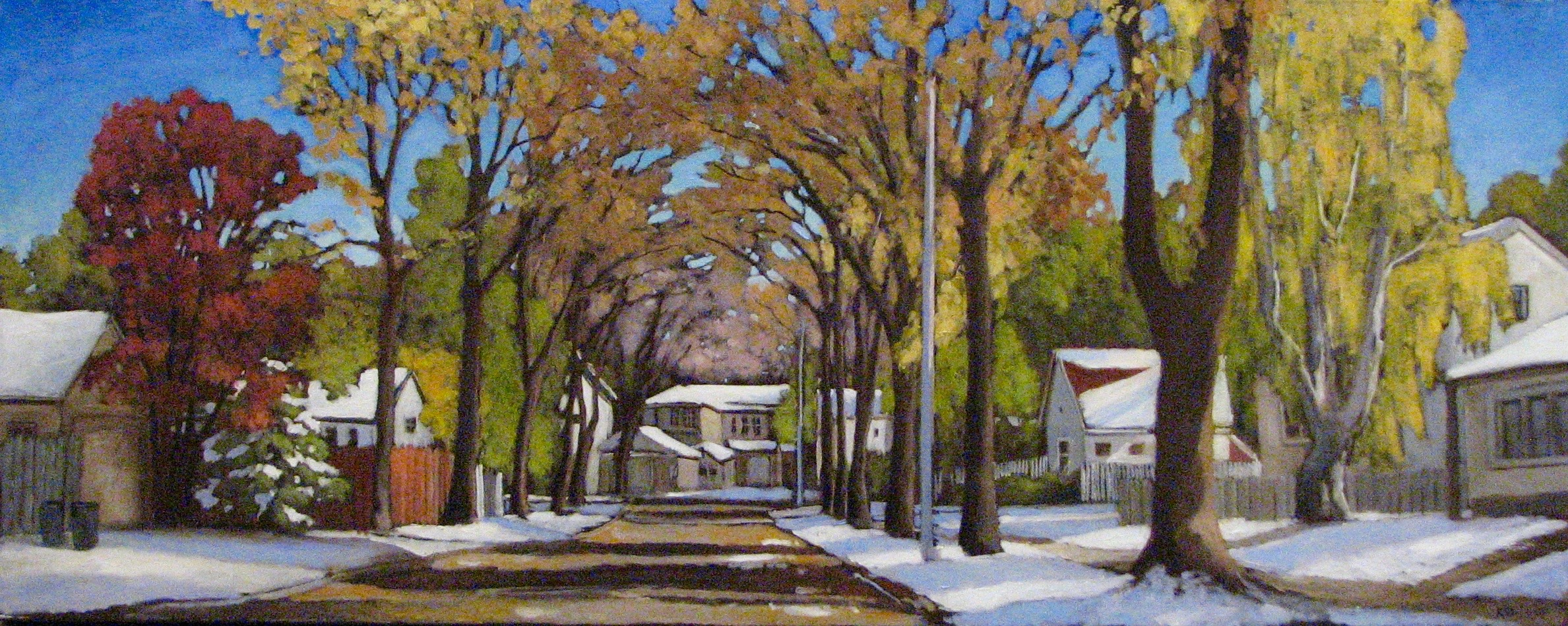 Early Snow by  Kari Duke - Masterpiece Online