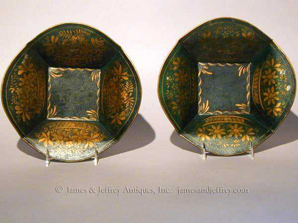 Pair of Tole Plates by  American  - Masterpiece Online