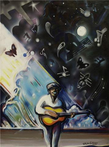 HAPPY BLUES by  Billy Dee Williams - Masterpiece Online
