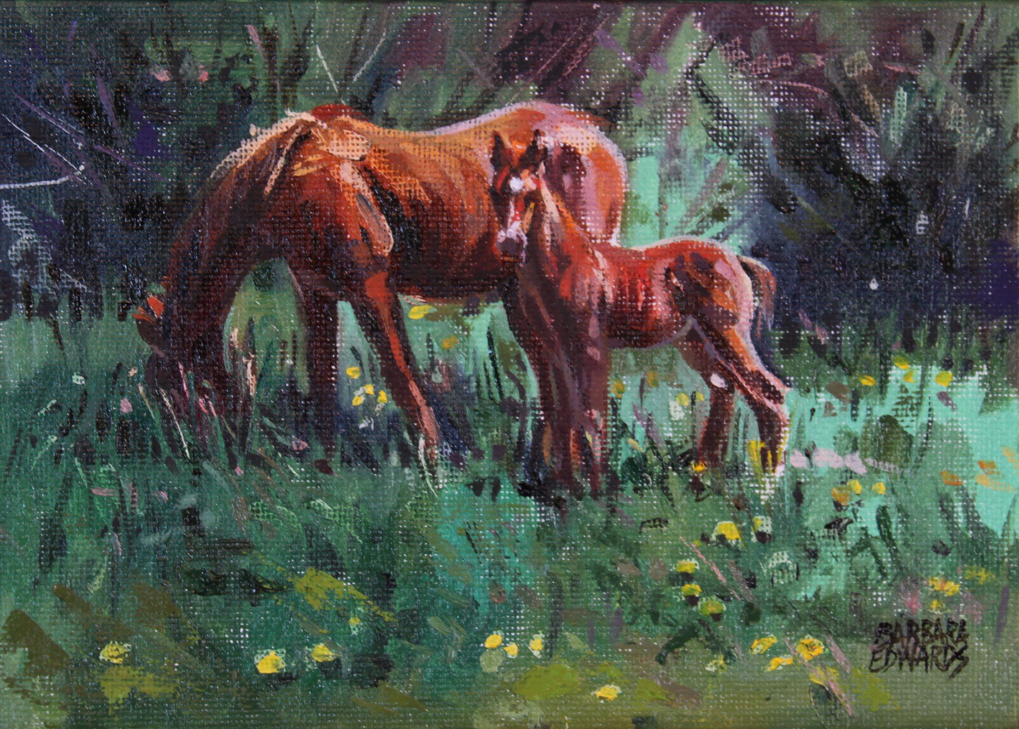 SOLD- Little One by  Barbara Summers Edwards - Masterpiece Online