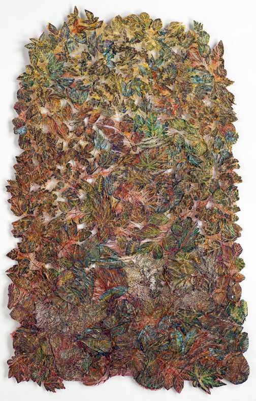 Leaf Fall I by  Lesley Richmond - Masterpiece Online
