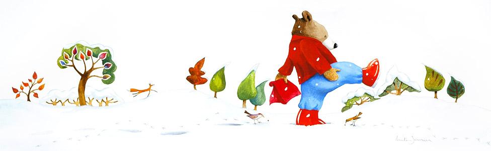 Walking In The Snow (...  by  Anita Jeram