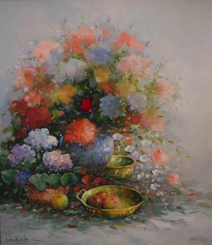 Flower Romance by  Rob  De Haan  - Masterpiece Online