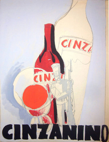 Cinzanino Maquette (G... by  Luciano Achille Mauzan - Masterpiece Online