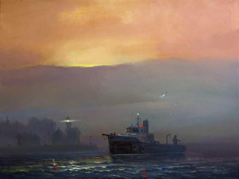 Feekie P. Fishing Off... by Mr Austin Dwyer, ASMA - Masterpiece Online