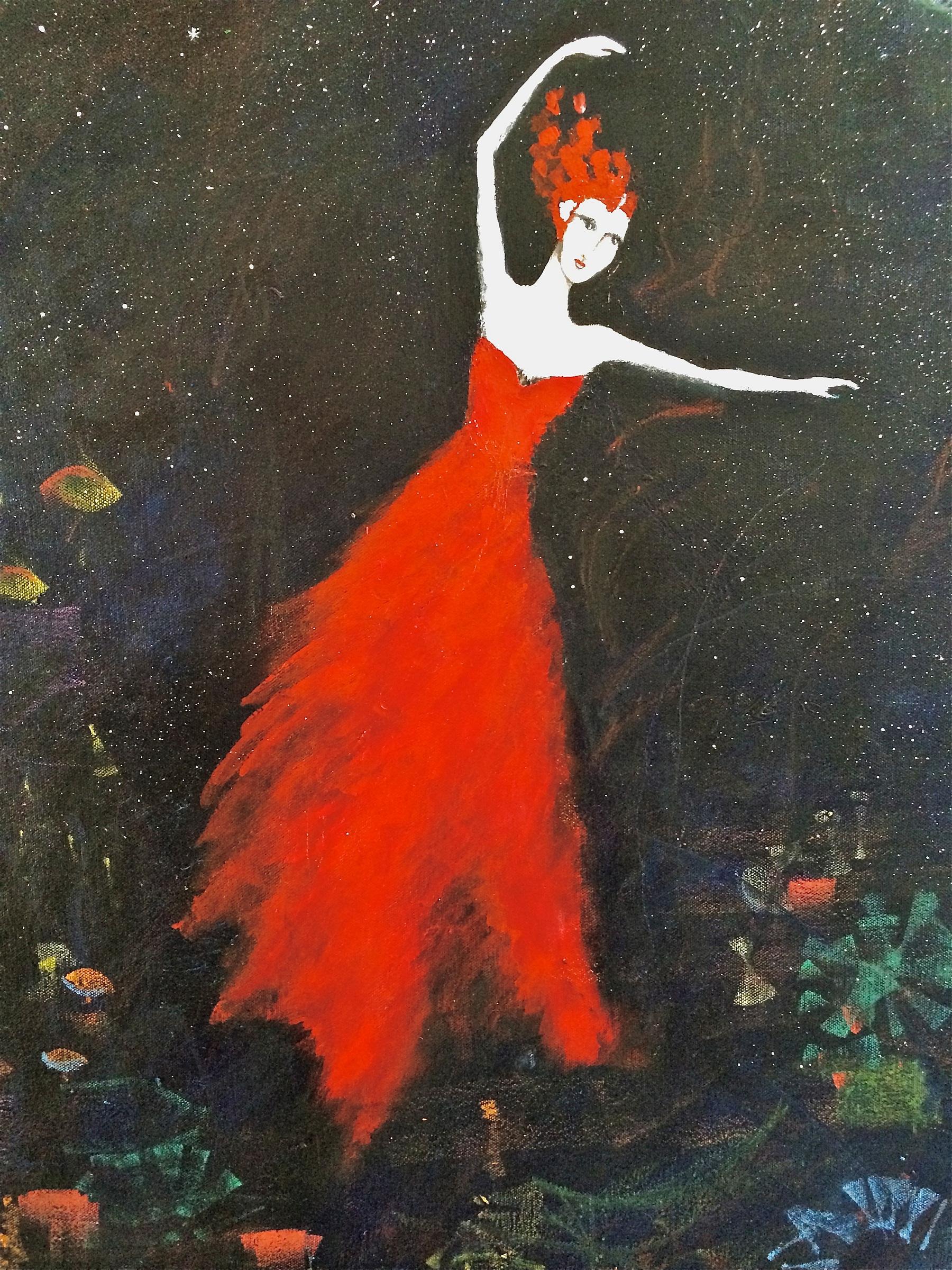 GRANADA DANCING IN TH... by Mrs. ANA MARINI - GENZON - Masterpiece Online