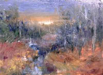 Back Stream Water by  Tom Bailey - Masterpiece Online