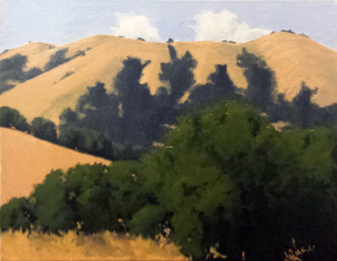 Carmel Valley Hills by  Donald  Craghead - Masterpiece Online