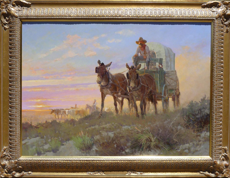 Trail Dust at Dawn by Mr. & Mrs. Robert Pummill - Masterpiece Online