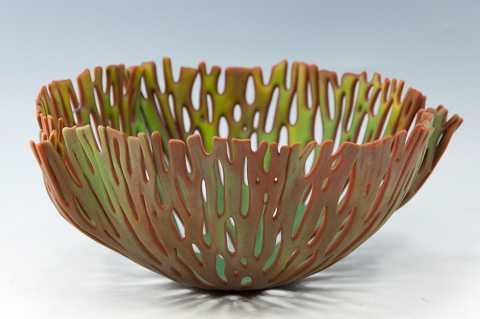 Vase/Forest/Greens on... by  Glenda Kronke - Masterpiece Online
