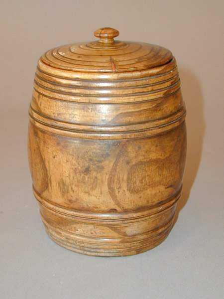 Barrel Tobacco Jar by   English - Masterpiece Online