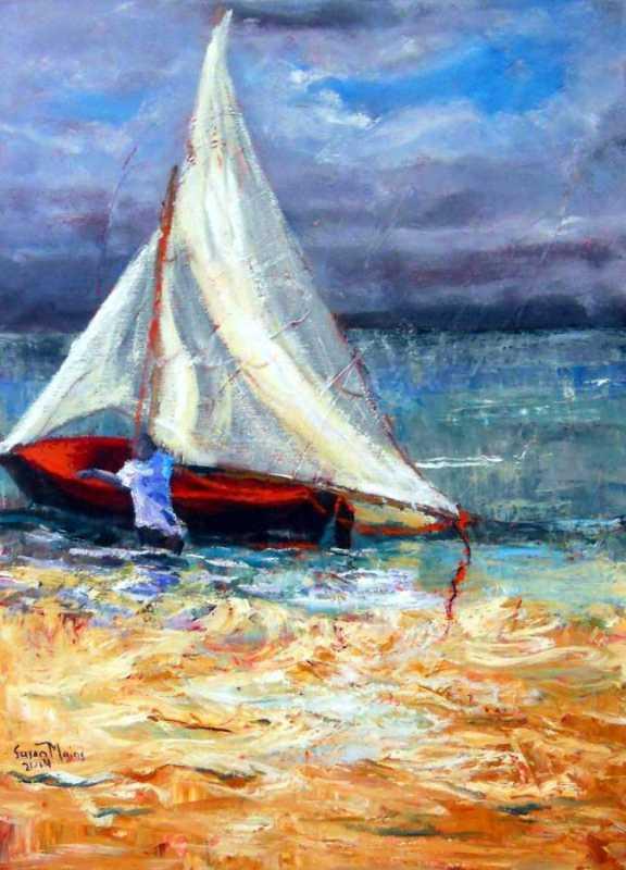 Sea Sand & Sail by Mrs. Susan Mains - Masterpiece Online