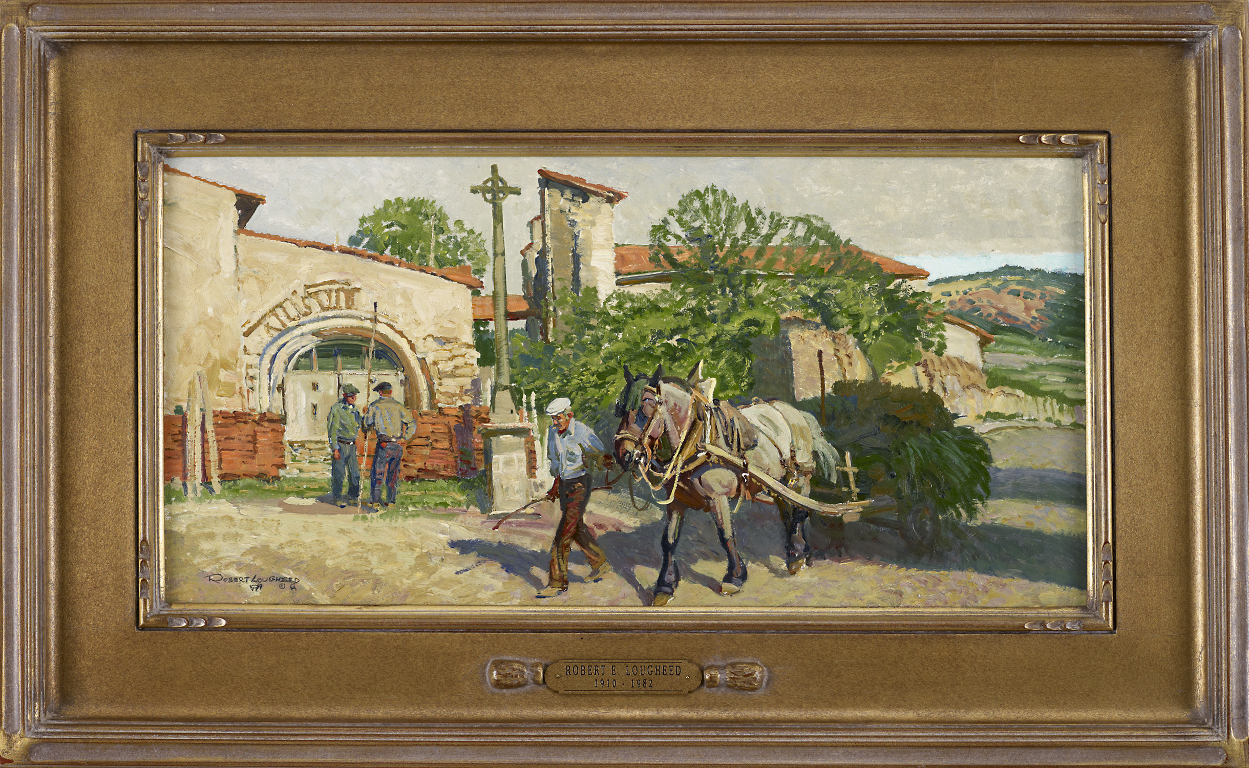 In the village of Cha... by  Robert Lougheed - Masterpiece Online
