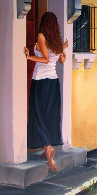 Morning Lights (SOLD)  by  Deborah Levy