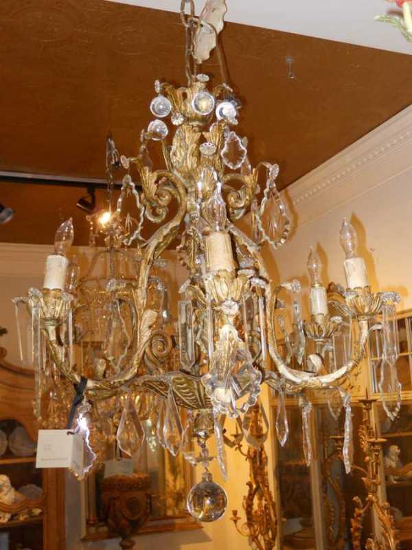 Crystal Chandelier by  Italian  - Masterpiece Online