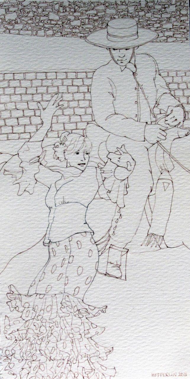Marta and Ismael by  Melissa Hefferlin - Masterpiece Online