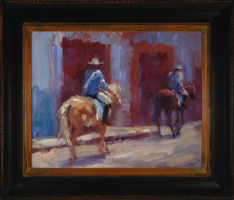 San Miguel Blues by  Lael Weyenberg - Masterpiece Online